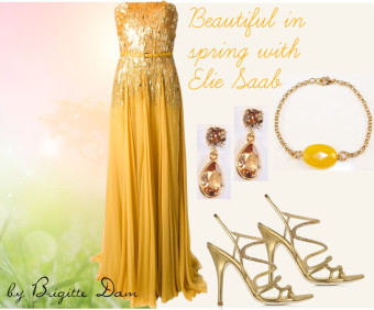 Style Guide: Beautiful in spring with Elie Saab