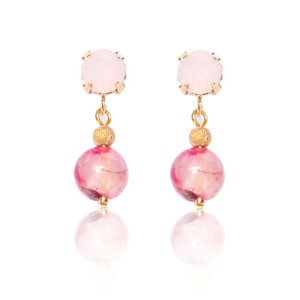 Oorbellen | Earrings | Rose Petals | Brigitte Dam