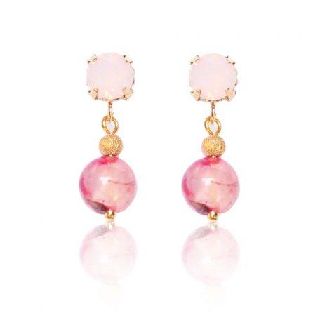 Oorbellen | Earrings | Rose Petals | Brigitte Dam