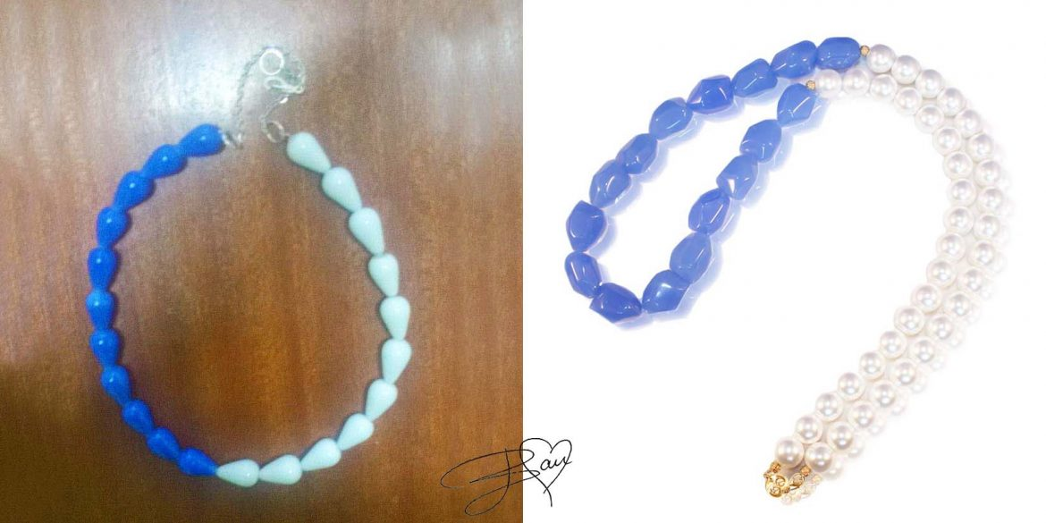 Nancy from Kenya made her own variation of Classy Sassy Pearls and we love it!