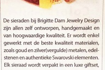 Brigitte Dam attends Art fair Baarn!