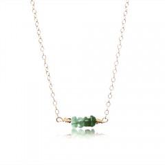 Emerald Brigitte Dam Jewelry Design