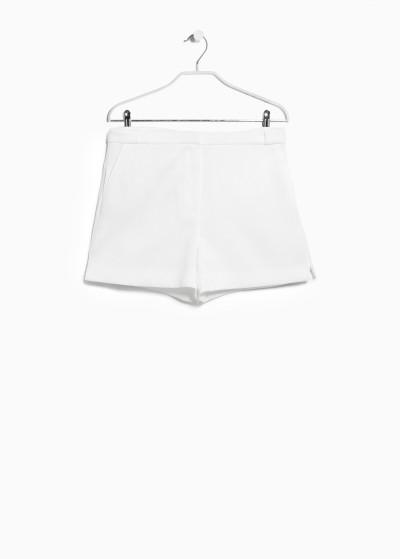 Mango: Getextureerde soepelvallende shorts