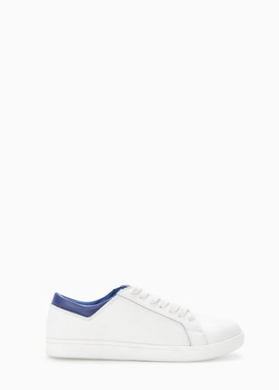 Mango: Leren sneakers met veters